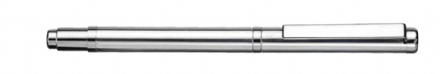 York Sterling Silver Mini Ballpoint Pen - Smooth Sterling Silver